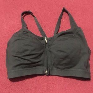 Victoria's Secret sport bra-zip up front